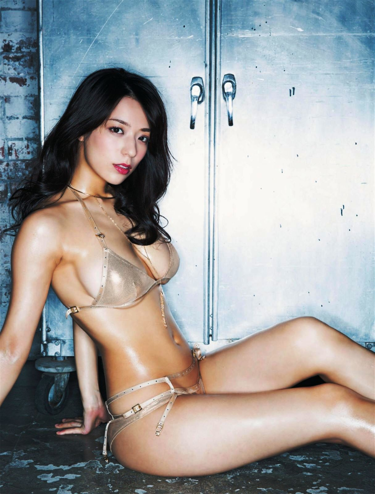 Japanese nude model GRAVURE.COM moneyshot